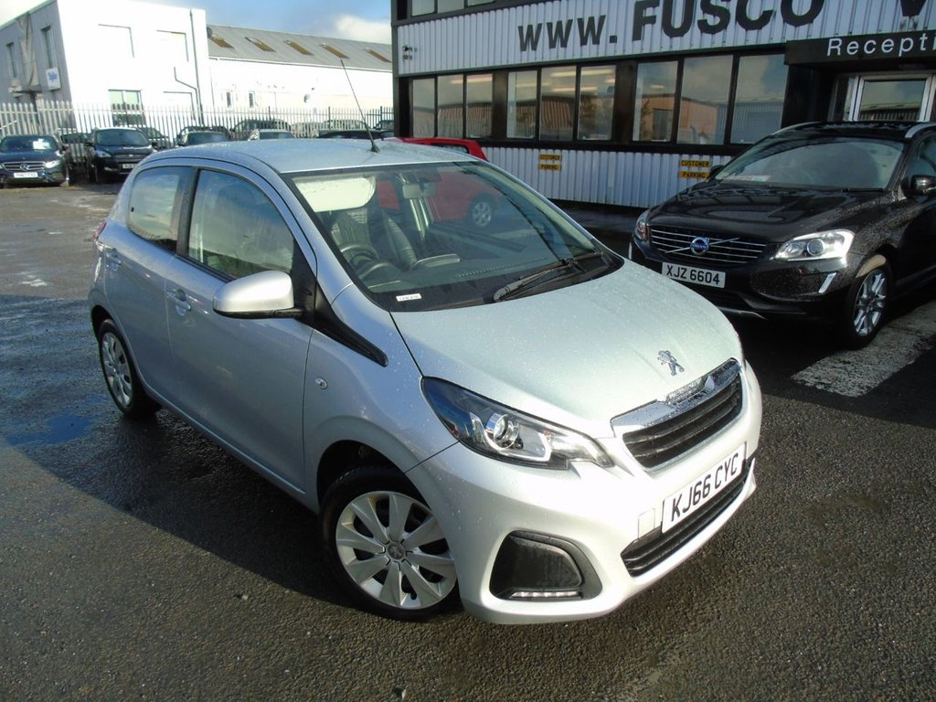 USED 2017 66 PEUGEOT 108 1.0 ACTIVE 5d 68 BHP £113 a month, T&Cs apply.