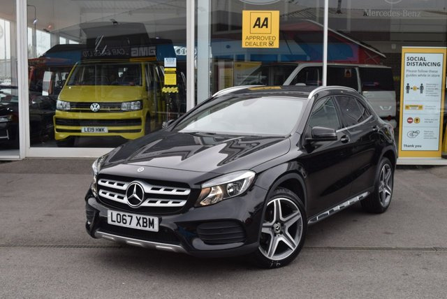 USED 2018 67 MERCEDES-BENZ GLA-CLASS 2.1 GLA 200 D AMG LINE 5d 134 BHP FINANCE TODAY WITH NO DEPOSIT - SERVICE HISTORY