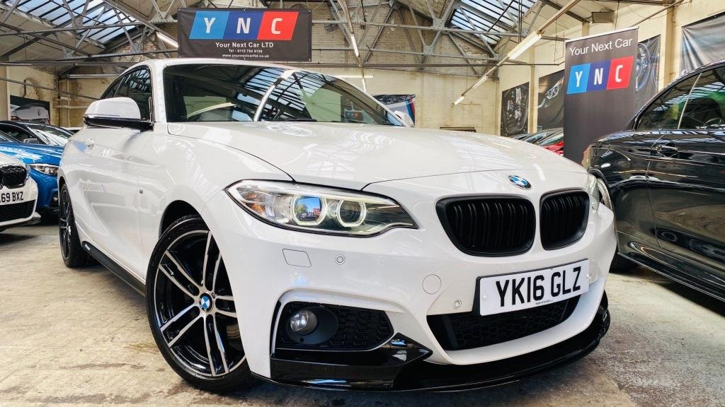 USED 2016 16 BMW 2 SERIES 2.0 220d M Sport Auto (s/s) 2dr PERFORMANCEKIT+XENONS+HTDSEATS