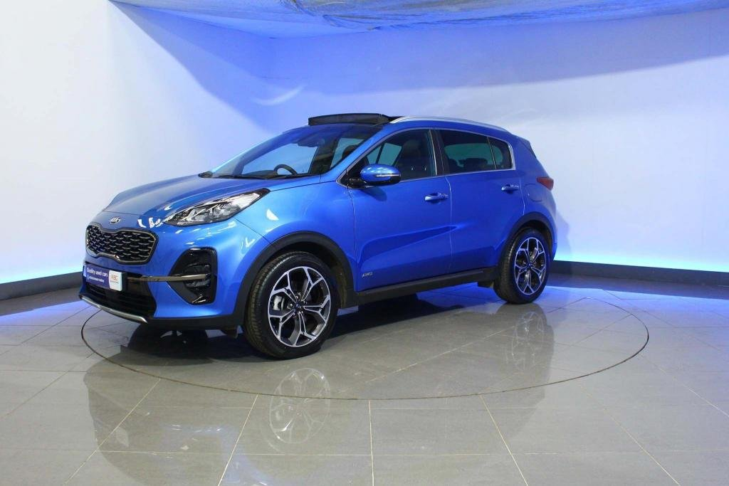 USED 2019 19 KIA SPORTAGE 1.6 T-GDi GT-Line S DCT AWD (s/s) 5dr PANORAMIC SUNROOF - SAT NAV