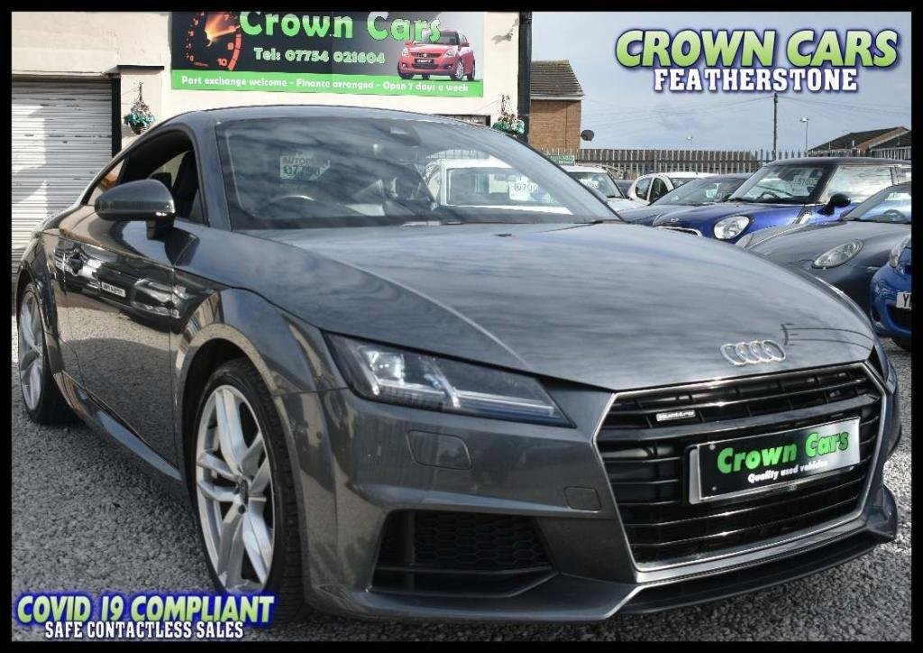 USED 2016 66 AUDI TT 2.0 TFSI S line S Tronic quattro (s/s) 3dr AMAZING LOW RATE FINANCE DEALS