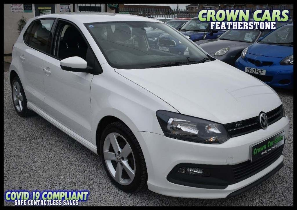 USED 2013 63 VOLKSWAGEN POLO 1.2 R Line Style 5dr AMAZING LOW RATE FINANCE DEALS