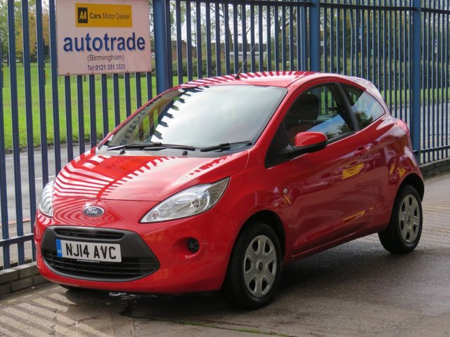 USED 2014 14 FORD KA 1.2 EDGE 3d 69 BHP ULEZ COMPLIANT, LOW TAX AND INSURANCE, AIR CON, FORD HISTORY AIR CON, ABS, CD RADIO, REMOTE CEMTRAL LOCKING, ELECTRIC WINDOWS AND MIRRORS, £30 TAX, LOW INSURANCE GROUP