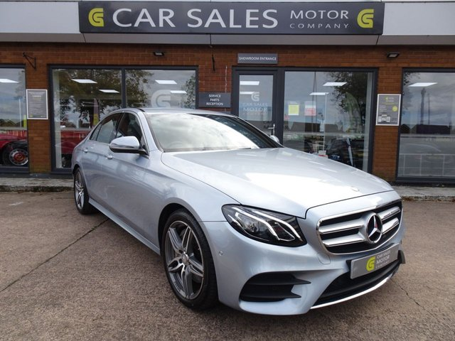 USED 2017 17 MERCEDES-BENZ E-CLASS 3.0 E 350 D AMG LINE 4d 255 BHP 1 OWNER FROM NEW, FULL MERCEDES BENZ SERVICE HISTORY, FANTASTIC SPEC, HPI CLER, 5 STAR RATED DEALERSHIP - BUY WITH CONFIDENCE