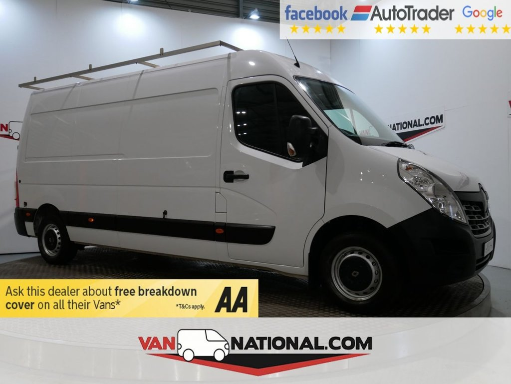 USED 2018 18 RENAULT MASTER 2.3 LM35 BUSINESS ENERGY DCI 110 BHP (LWB EURO 6) * ONE OWNER * EURO 6 * NAV * LWB * ZERO DEPOSIT FINANCE AVAILABLE *