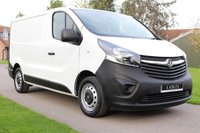 USED 2015 64 VAUXHALL VIVARO 1.6 2700 L1H1 CDTI P/V ECOFLEX 89 BHP NO VAT 5 SEATER DEADLOCK HIGH SECURITY ALARM WARRANTY INCLUDED