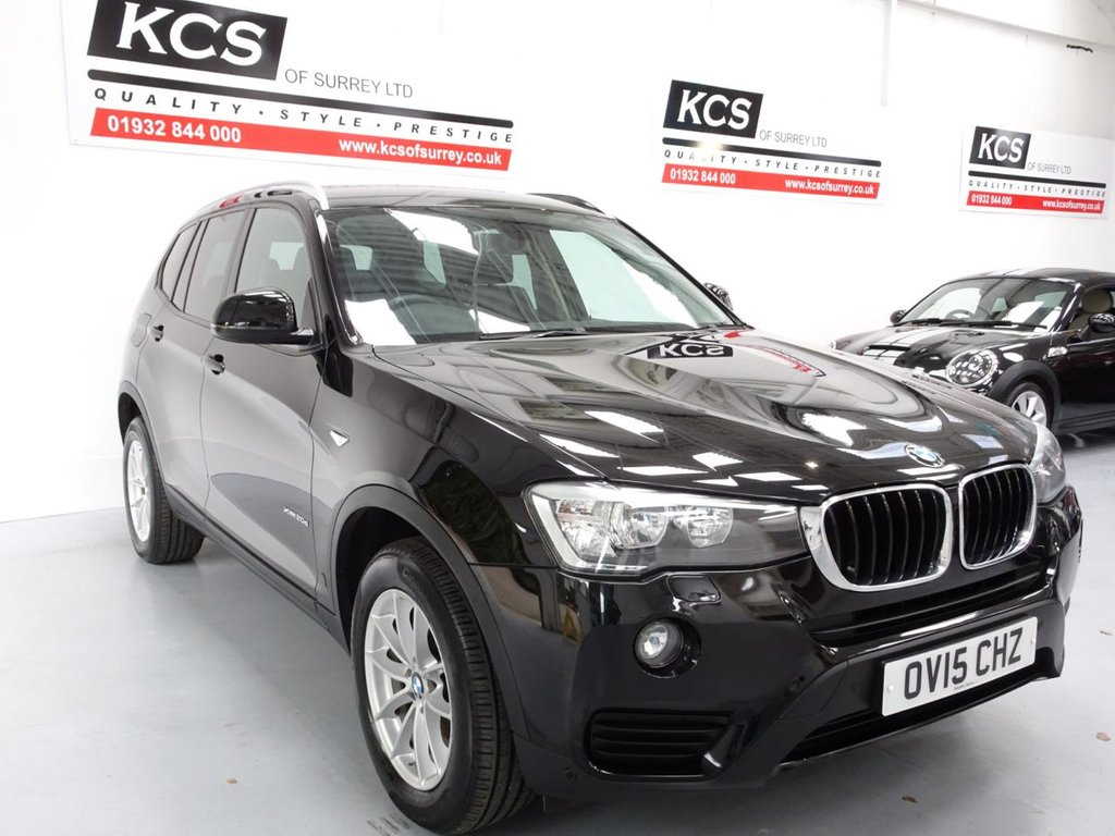 USED 2015 15 BMW X3 2.0 XDRIVE20D SE 5d 188 BHP SAT NAV - HTD SEATS - LEATHER