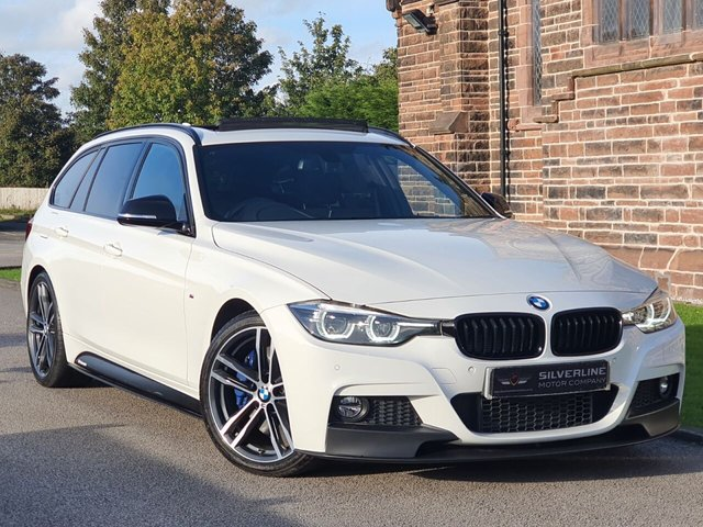 2017 67 BMW 3 SERIES 3.0 330D M SPORT SHADOW EDITION TOURING 5d 255 BHP