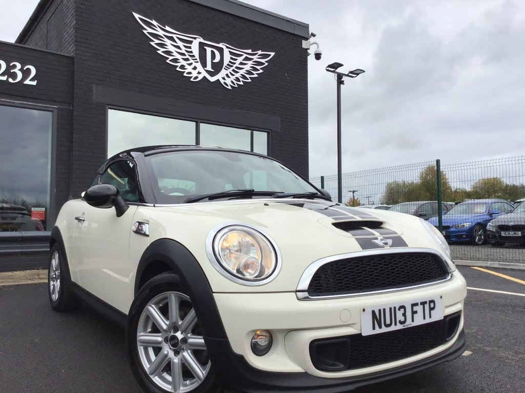 USED 2013 MINI COUPE 2.0 Cooper S D 3dr