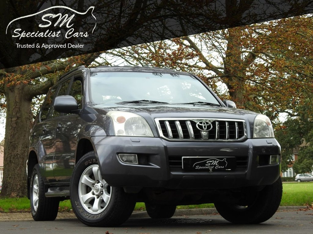 USED 2005 55 TOYOTA LAND CRUISER 3.0 LC4 8-SEATS D-4D 5d 164 BHP LC4 LEATHER SAT NAV A/C VGC