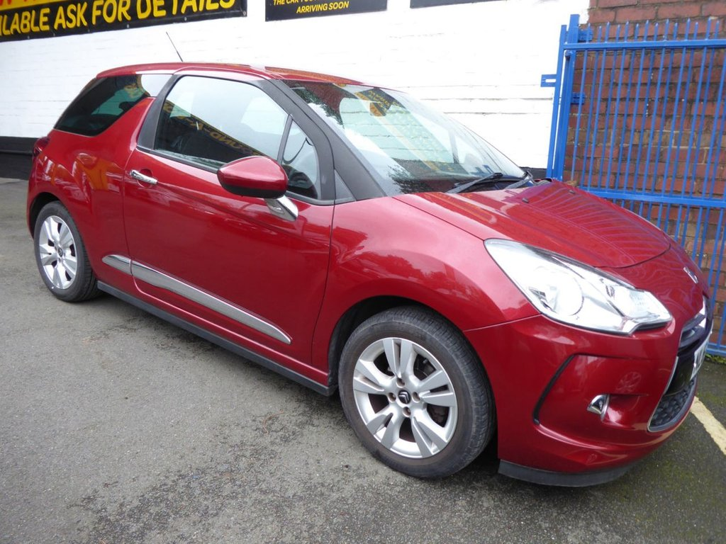 USED 2011 61 CITROEN DS3 1.6 DSTYLE 3d 120 BHP *AUTOMATIC* !!! VERY RARE AUTOMATIC !!!