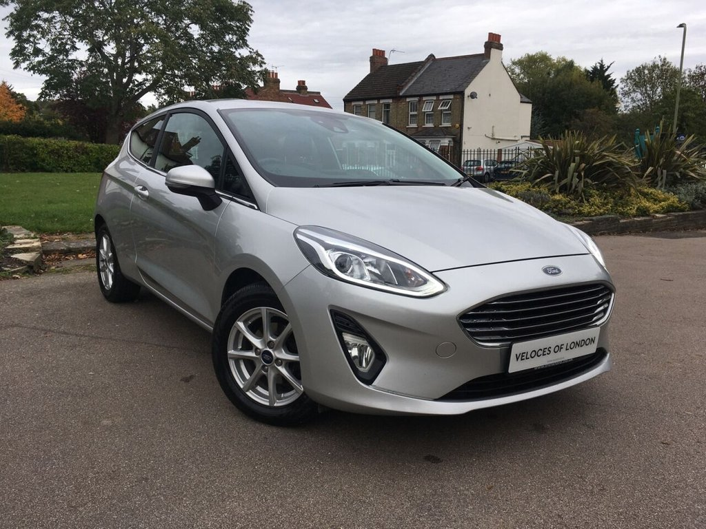 USED 2018 18 FORD FIESTA 1.0 ZETEC 3d 99 BHP GREAT VALUE