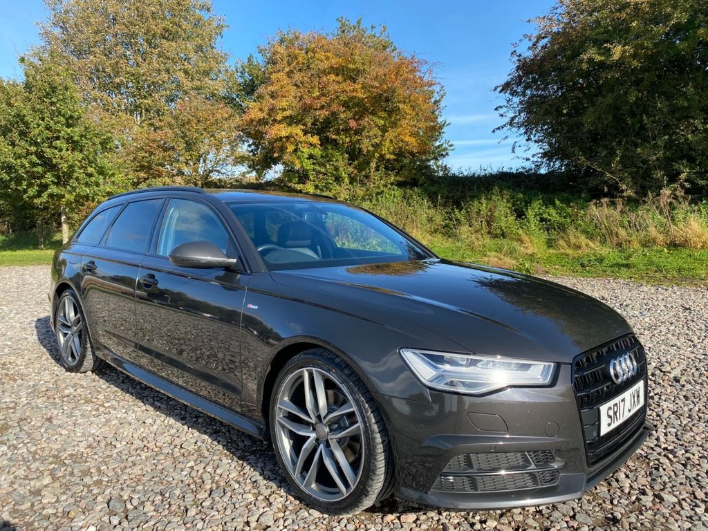 USED 2017 17 AUDI A6 2.0 AVANT TDI ULTRA BLACK EDITION 5d 188 BHP