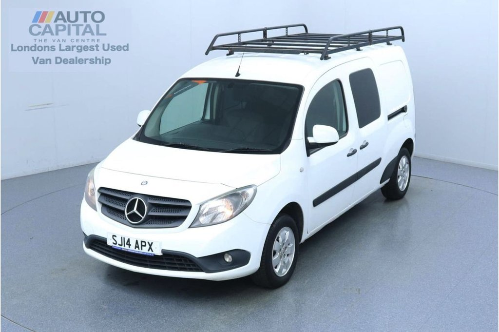 USED 2014 MERCEDES-BENZ CITAN 109 CDI DUALINER 90 BHP LWB 5 Seats Combi Van Trade sale only | No warranty | 5 Seats | Roof Rack Fitted | Alloy wheels