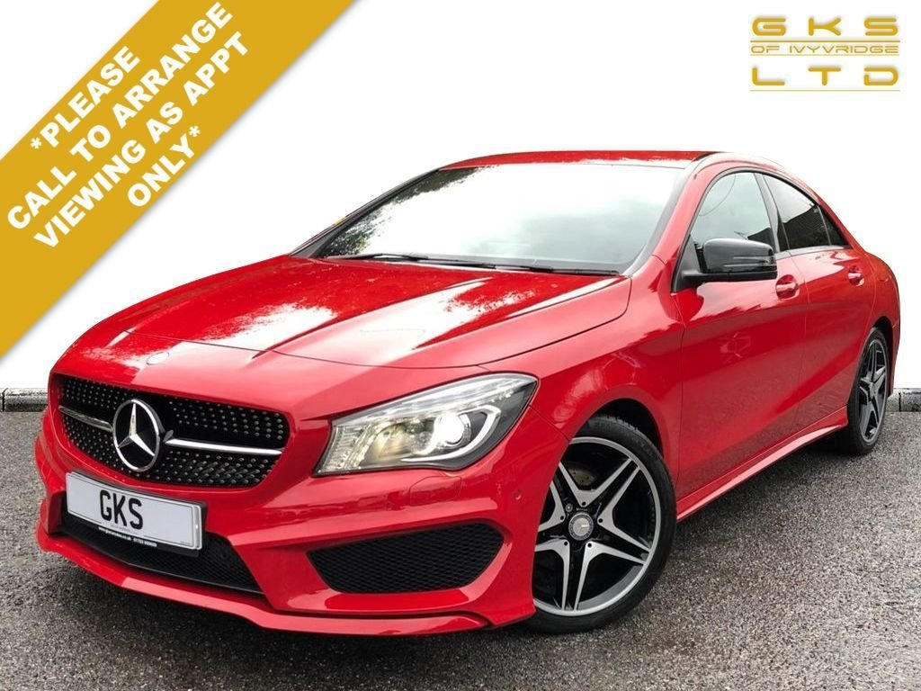 USED 2014 64 MERCEDES-BENZ CLA 1.8 CLA200 CDI AMG SPORT 4d 136 BHP ** NATIONWIDE DELIVERY AVAILABLE **