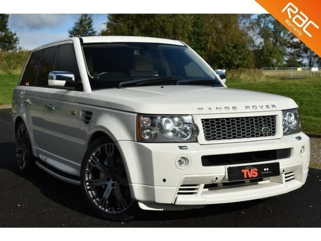 USED 2008 08 LAND ROVER RANGE ROVER SPORT 3.6 TDV8 SPORT HSE 5d 269 BHP JUST SERVICED!!! 1 YEAR MOT