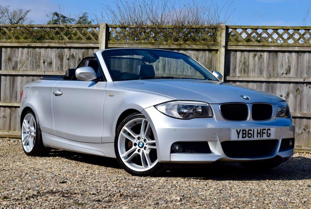 USED 2012 61 BMW 1 SERIES 2.0 123D M SPORT 2d 202 BHP Free 12  month warranty