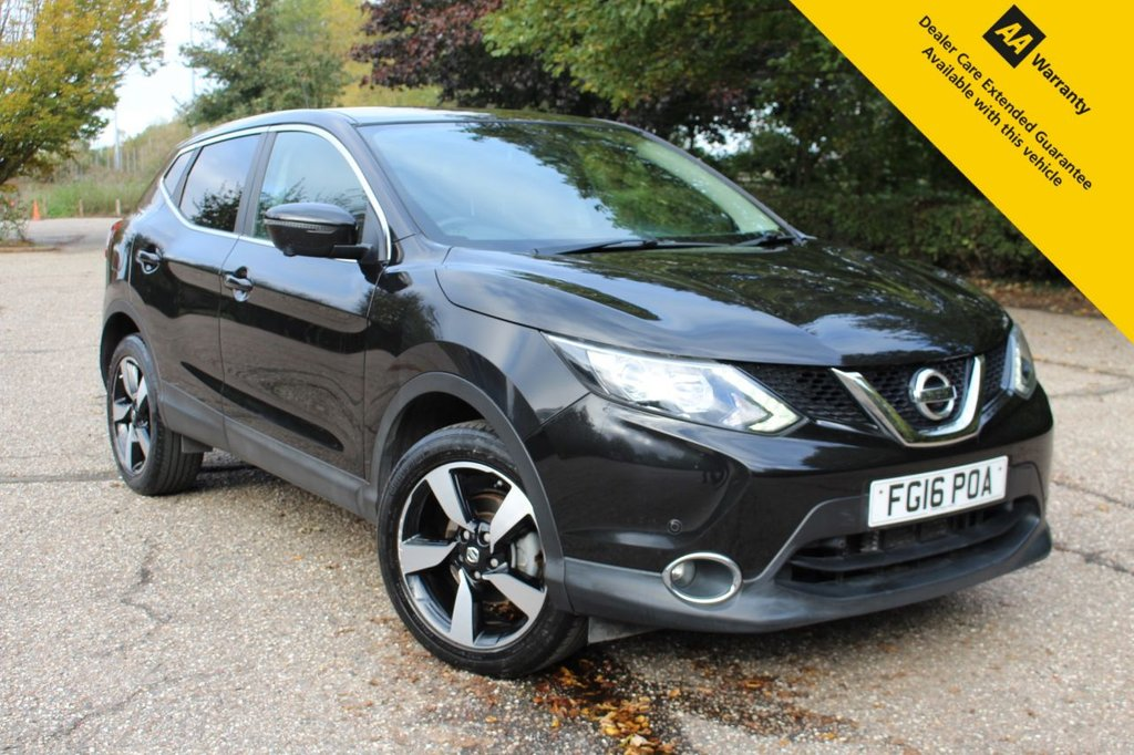 USED 2016 16 NISSAN QASHQAI 1.2 N-CONNECTA DIG-T XTRONIC 5d 113 BHP ** 1 OWNER ** FULL SERVICE HISTORY ** BRAND NEW SERVICE + MOT ** SAT NAV ** 360 PARKING CAMERAS ** FRONT + REAR PARKING SENSORS  ** LANE ASSIST ** CRUISE CONTROL ** CLIMATE CONTROL ** BLUETOOTH ** ULEZ CHARGE EXEMPT ** LOW RATE £0 DEPOSIT FINANCE AVAILABLE **