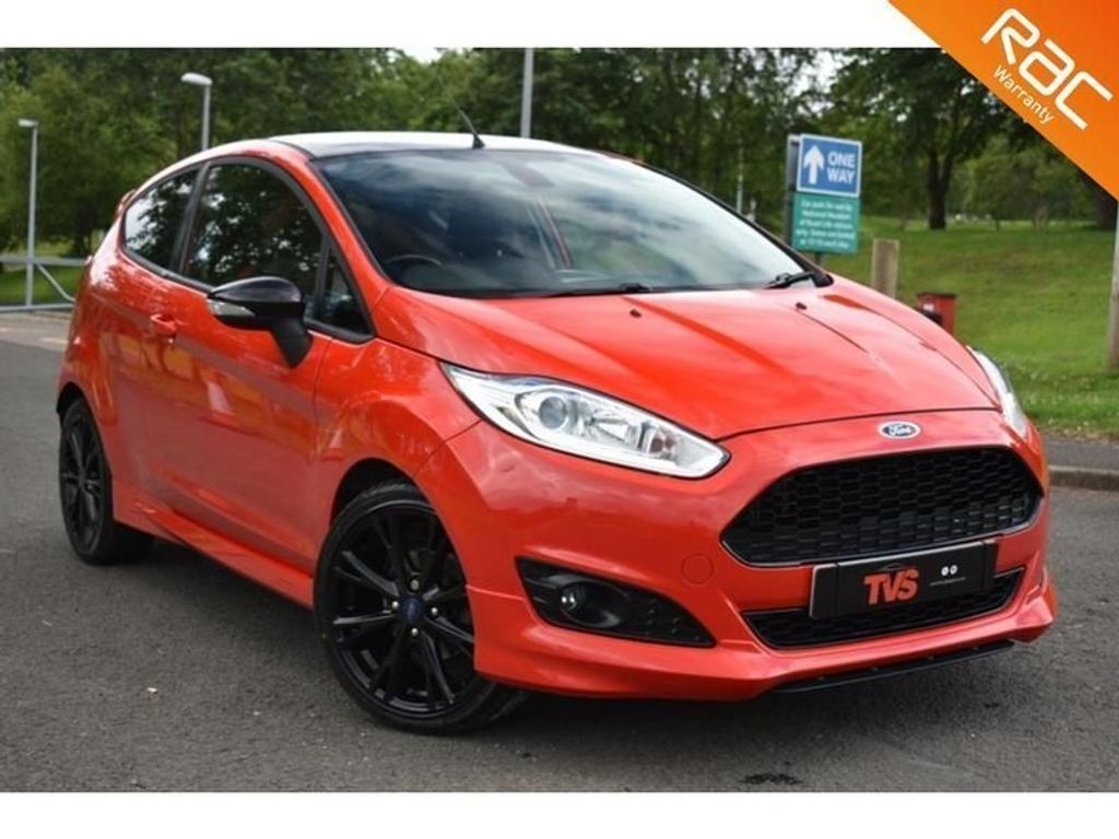 USED 2015 65 FORD FIESTA 1.0 ZETEC S RED EDITION 3d 139 BHP FULL HISTORY! 1 YR MOT!