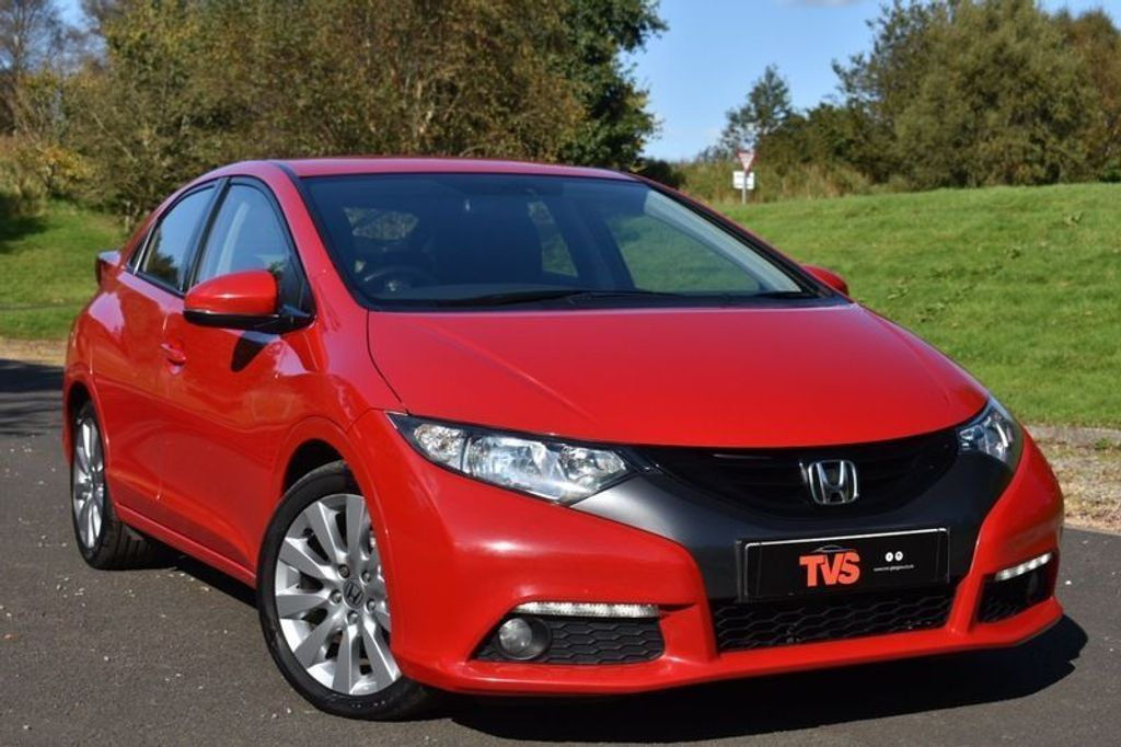 USED 2012 62 HONDA CIVIC 2.2 I-DTEC ES-T 5d 148 BHP GREAT HISTORY! 1 YR MOT! 2 KEY