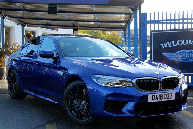 2018 18 BMW M5 4.4 M5 4d 592 BHP