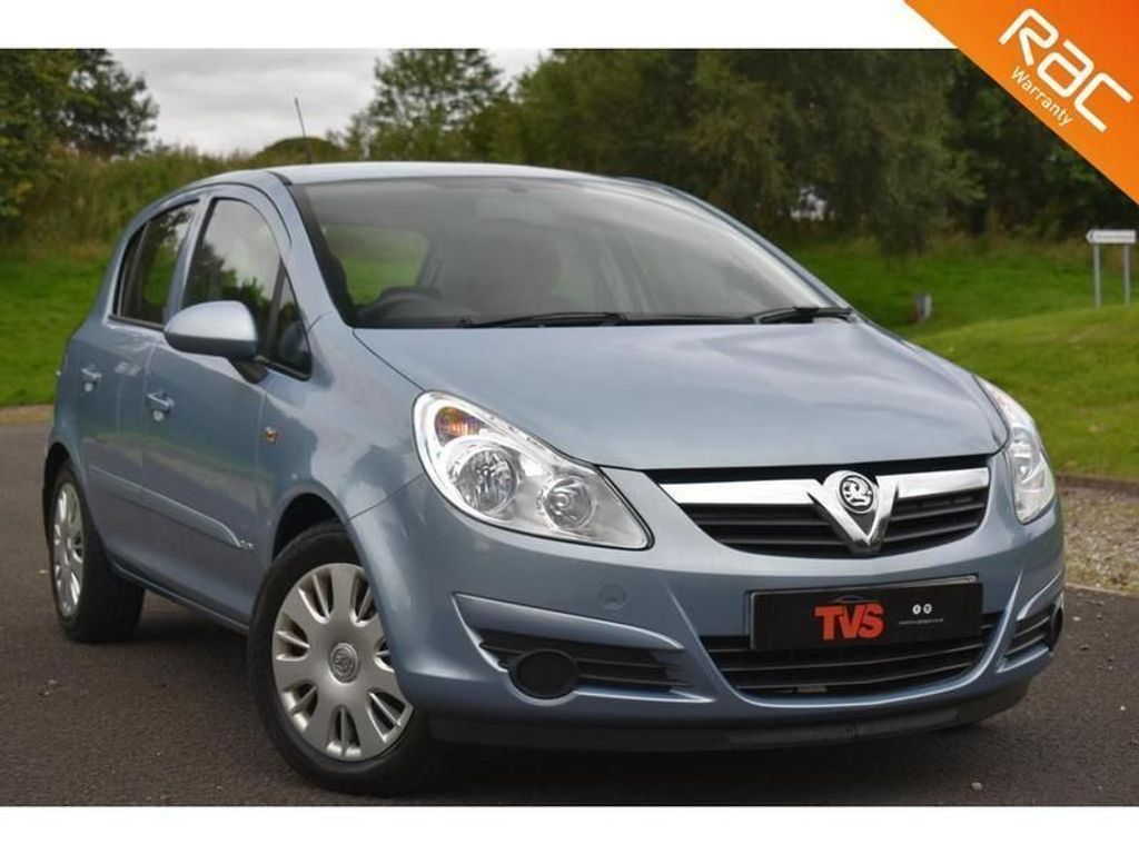 USED 2007 56 VAUXHALL CORSA 1.4 CLUB A/C 16V 5d 90 BHP JUST SERVICED!!! 1 YEAR MOT