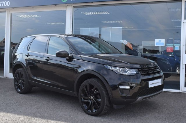 2017 17 LAND ROVER DISCOVERY SPORT 2.0 TD4 HSE LUXURY 5d 180 BHP