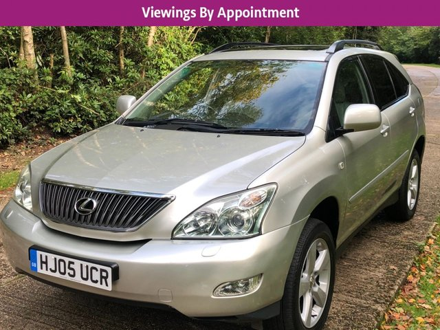 USED 2005 05 LEXUS RX 3.0 300 SE 5d 202 BHP MANY EXTRAS, UK DELIVERY POSSIBLE PX WELCOME