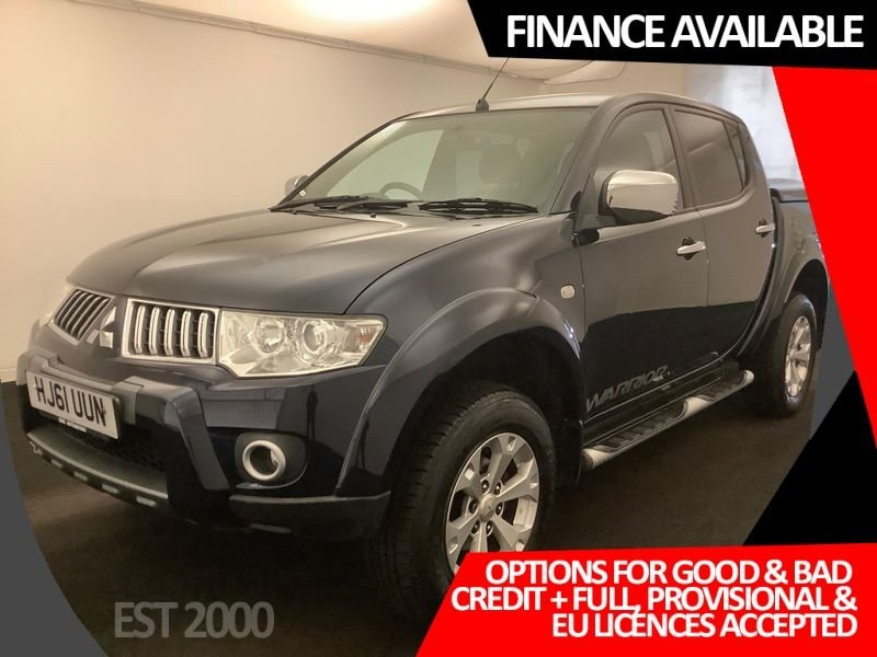 USED 2011 61 MITSUBISHI L200 2.5 DI-D 4X4 WARRIOR LB DCB 175 BHP * 6 SERVICE STAMPS * AUGUST 21 MOT *