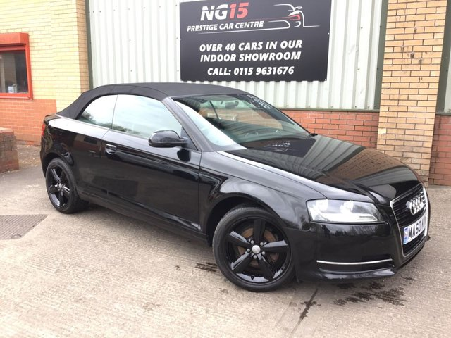 View our AUDI A3 CABRIOLET