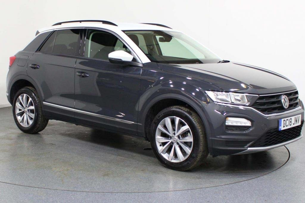 USED 2018 18 VOLKSWAGEN T-ROC 1.5 TSI EVO Design (s/s) 5dr AA WARRANTY & BREAKDOWN INC