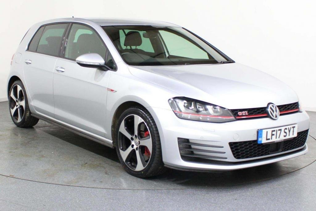 USED 2017 17 VOLKSWAGEN GOLF 2.0 TSI BlueMotion Tech GTI (Performance pack) DSG (s/s) 5dr AA WARRANTY & BREAKDOWN INC