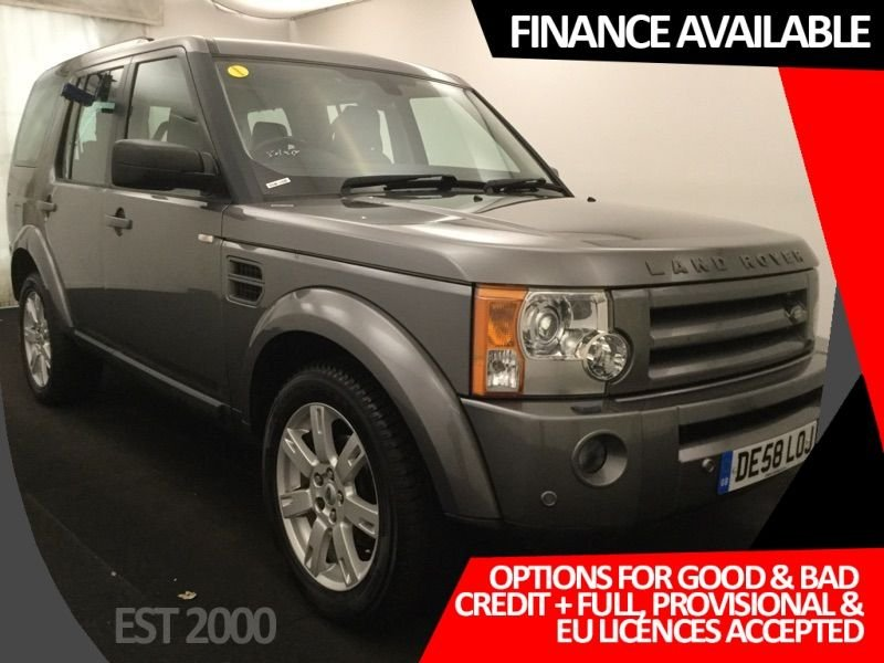 USED 2008 58 LAND ROVER DISCOVERY 2.7 3 TDV6 HSE 5d 188 BHP SAT NAV * PAN ROOF * 7 SEATS