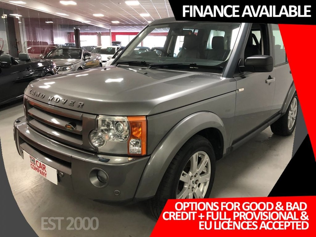 USED 2008 58 LAND ROVER DISCOVERY 2.7 3 TDV6 HSE 5d 188 BHP * SAT NAV * SUNROOF * HEATED FRONT & REAR SEATS *