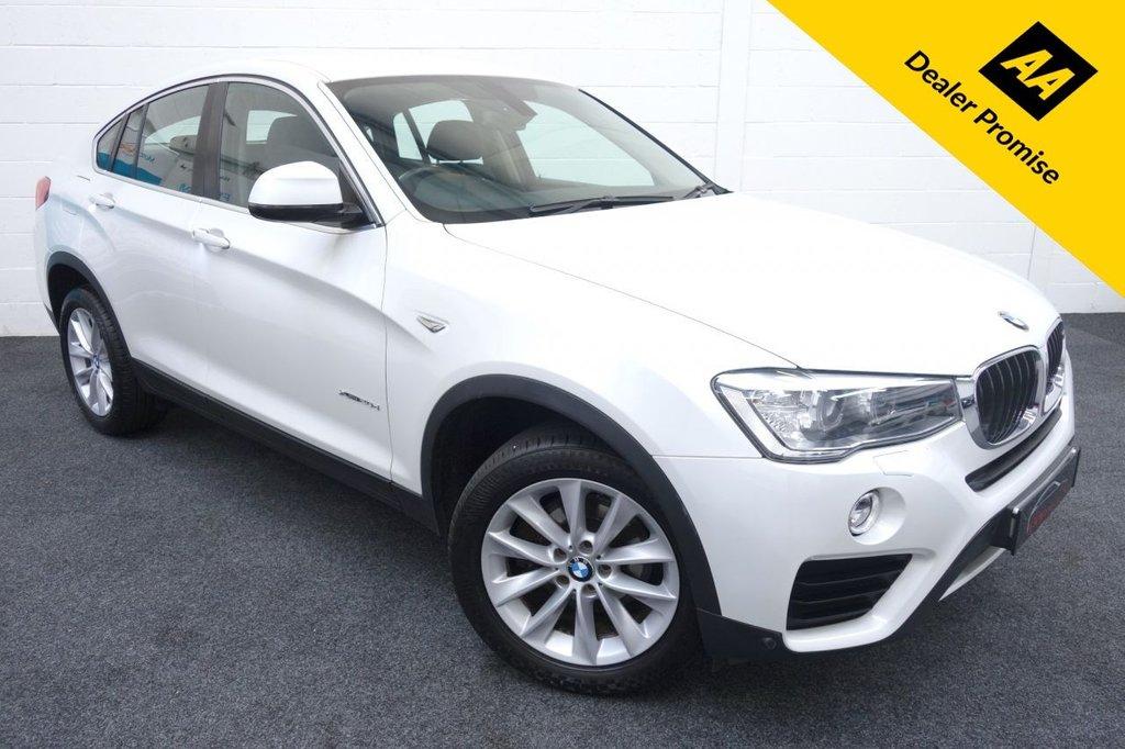 USED 2014 64 BMW X4 2.0 XDRIVE20D SE 4d 188 BHP