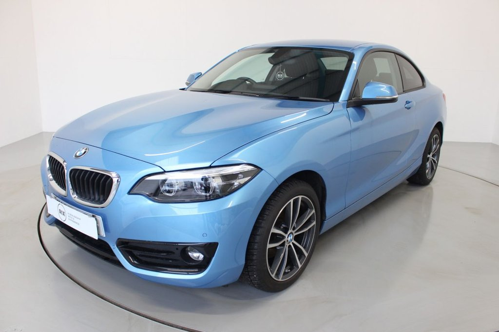 USED 2018 67 BMW 2 SERIES 1.5 218I SPORT 2d-2 OWNER CAR-17
