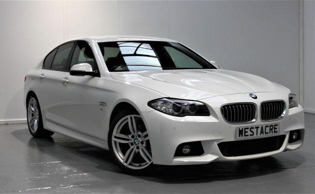 2014 64 BMW 5 SERIES 2.0 520D M SPORT 4d 188 BHP