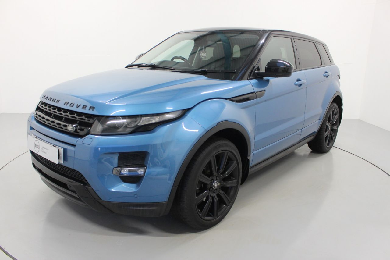 Used LAND ROVER RANGE ROVER EVOQUEfor sale