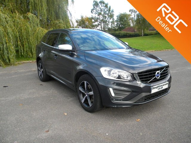USED 2017 17 VOLVO XC60 2.0 D4 R-DESIGN NAV 5d 188 BHP BY APPOINTMENT ONLY - Half Leather Heated Front Seats, Alloy Wheels, Rear Parking Sensors, Sat Nav, Cruise Control, DAB