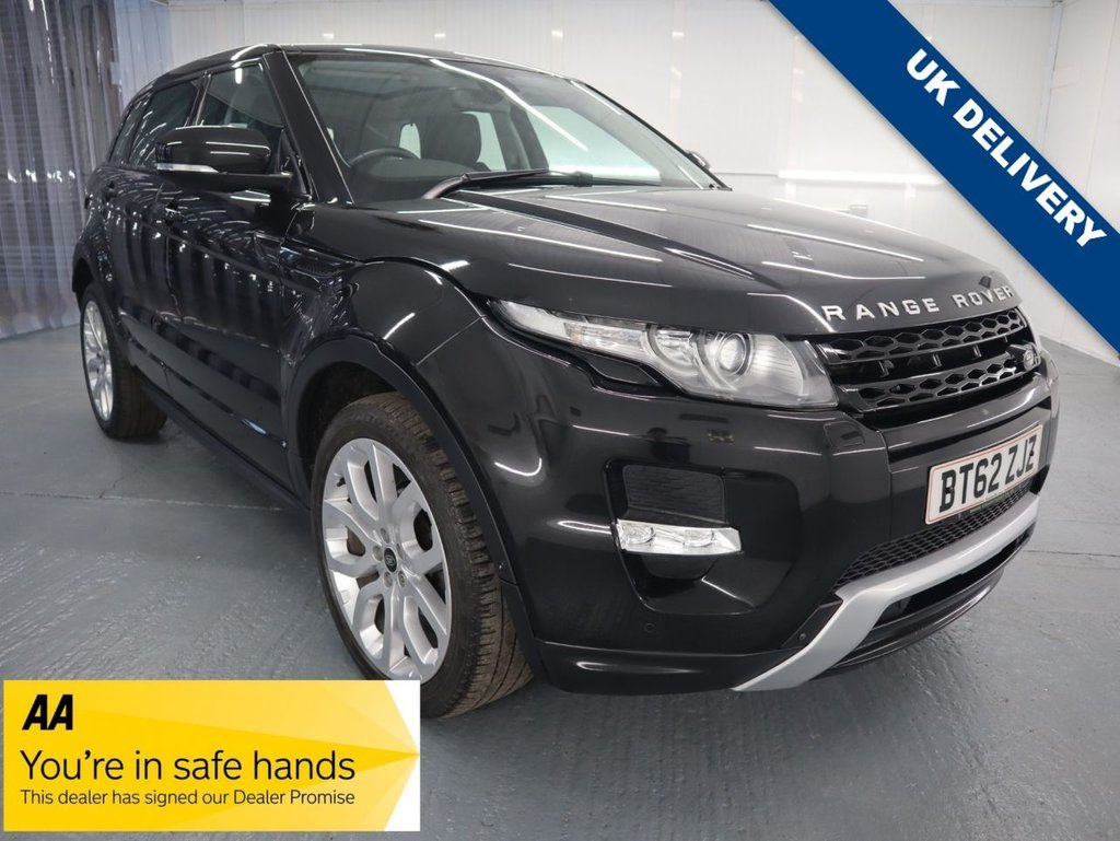 USED 2013 62 LAND ROVER RANGE ROVER EVOQUE 2.2 SD4 DYNAMIC LUX 5d 190 BHP ONE OWNER FROM NEW ULEZ COMPLIANT 12 MONTH MOT