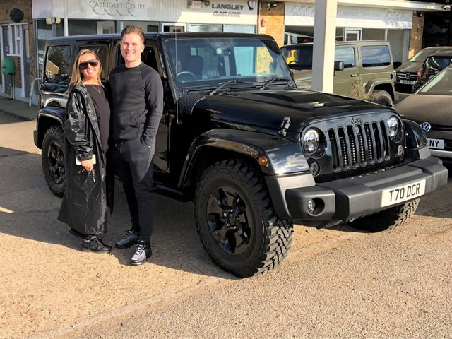 2015 15 JEEP WRANGLER 2.8 CRD BLACK EDITION. Reserved for Denny and Danielle