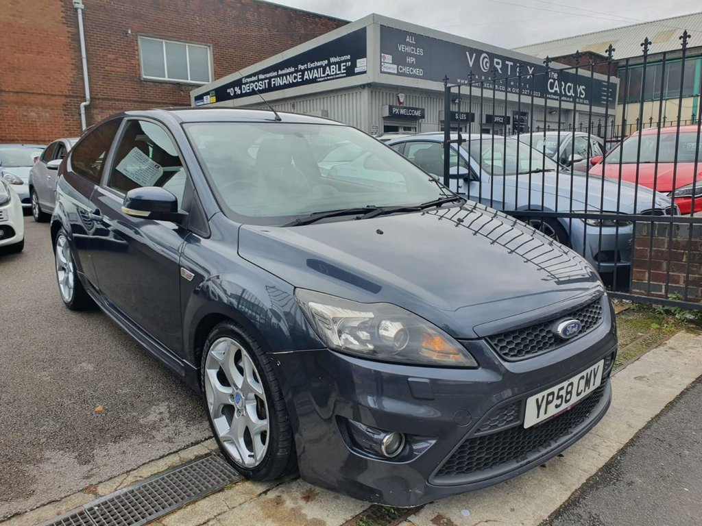 USED 2008 58 FORD FOCUS 2.5 ST-3 3d 223 BHP ONE OWNER FROM NEW!!