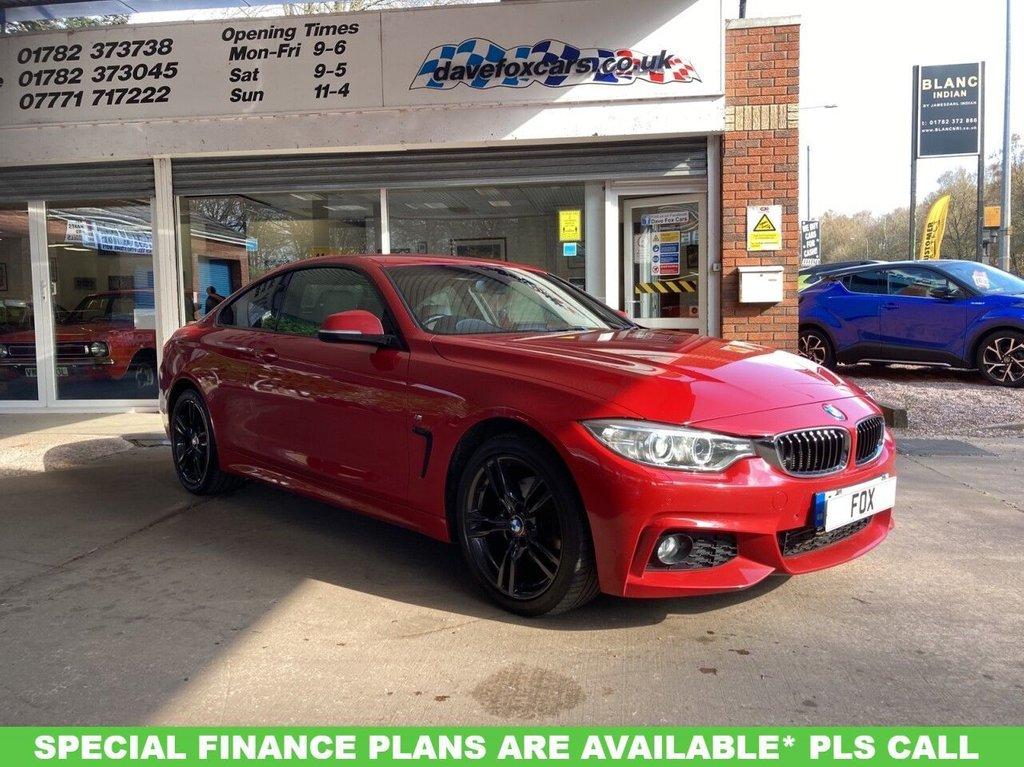 USED 2015 65 BMW 4 SERIES 2.0 420D XDRIVE M SPORT 2d AUTO 188 BHP 4 x 4