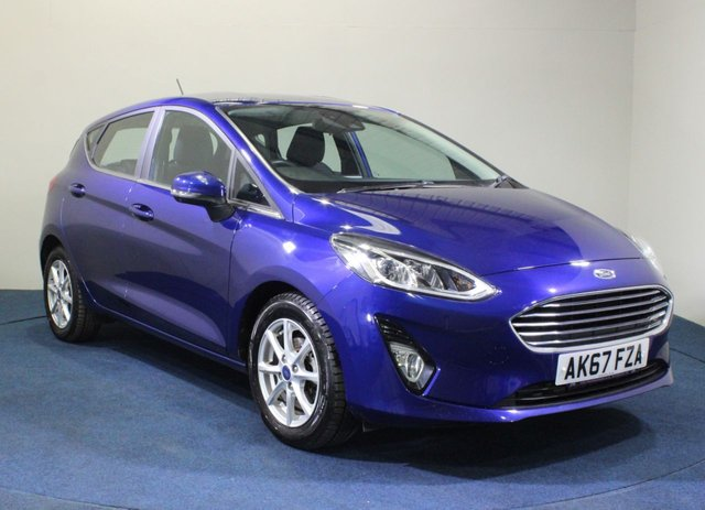 USED 2017 67 FORD FIESTA 1.1 ZETEC 5d 85 BHP HATCHBACK