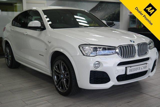 USED 2016 16 BMW X4 3.0 XDRIVE35D M SPORT 4d 309 BHP