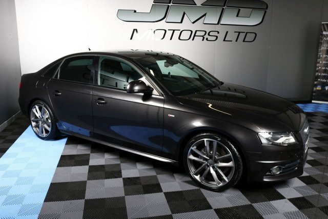 USED 2009 09 AUDI A4 2009 AUDI A4 2.0 TDI S LINE BLACK EDITION STYLE 141 BHP (FINANCE AND WARRANTY)