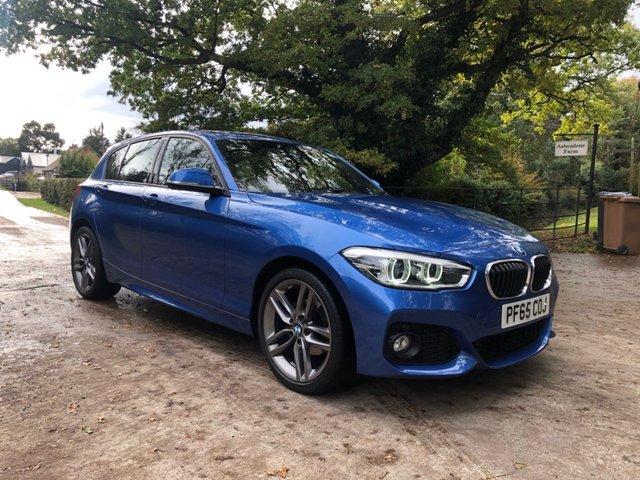 2015 65 BMW 1 SERIES 1.5 116D M SPORT 5d 114 BHP