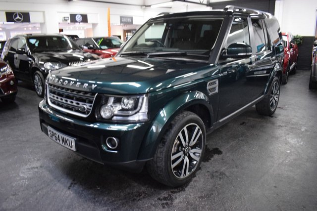 USED 2014 64 LAND ROVER DISCOVERY 4 3.0 SDV6 SE 5d 255 BHP GREAT VALUE DISCO 4.5 3.0 SDV6 SE - ONE PREVIOUS KEEPER - 6 STAMPS TO 82K - 7 SEATS - PRIVACY GLASS - 20 INCH ALLOY WHEELS