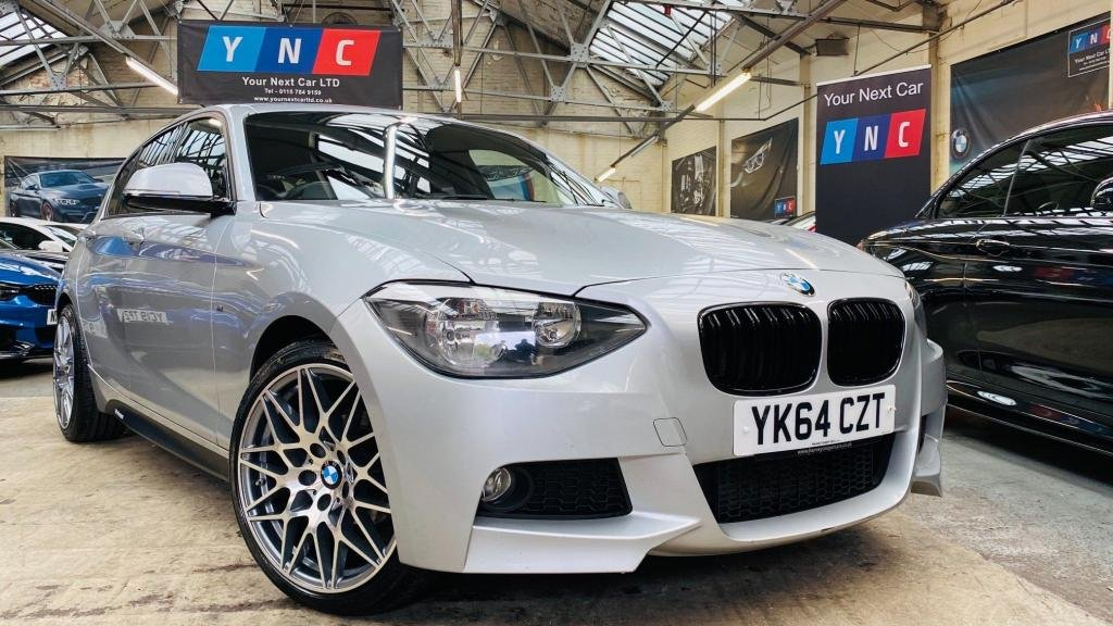 USED 2014 64 BMW 1 SERIES 2.0 116d M Sport Sports Hatch (s/s) 5dr YNCSTYLING+COMPALLOYS+WOW
