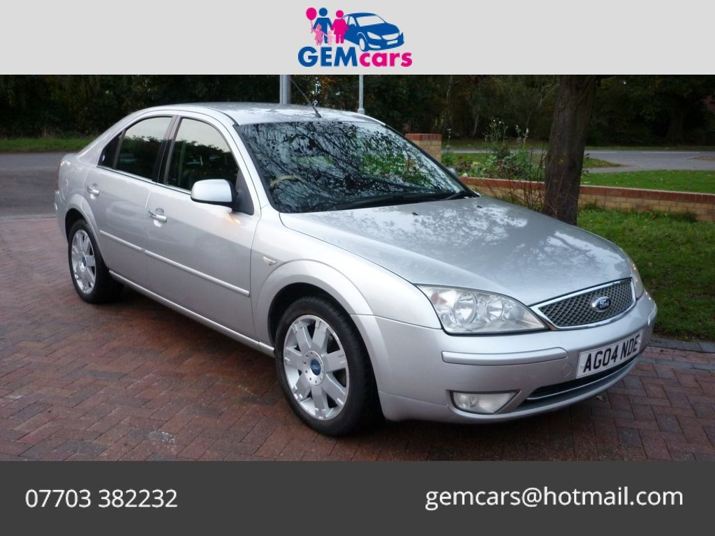 USED 2004 04 FORD MONDEO 2.0 GHIA X 5d 130 BHP GO TO www.gemcarsltd.co.uk TO WATCH A WALKROUND VIDEO